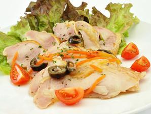 テーブルマーク)スモークチキンのマリネ(バジル風味) 260g【5月より価格改定】